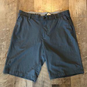 Adidas Grey Golf Casual Shorts Size 34